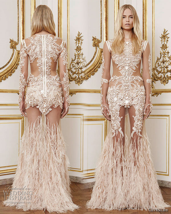 Givenchy HC F/W2011 ©WeddingInspirasi.com