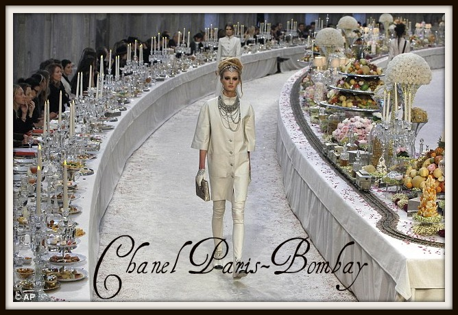 Chanel Paris-Bombay ©Associated Press