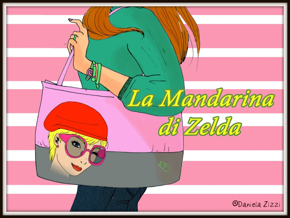 Zelda Roc e la sua Mandarina Duck