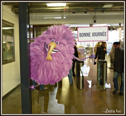 La mascotte di vente-privee.com