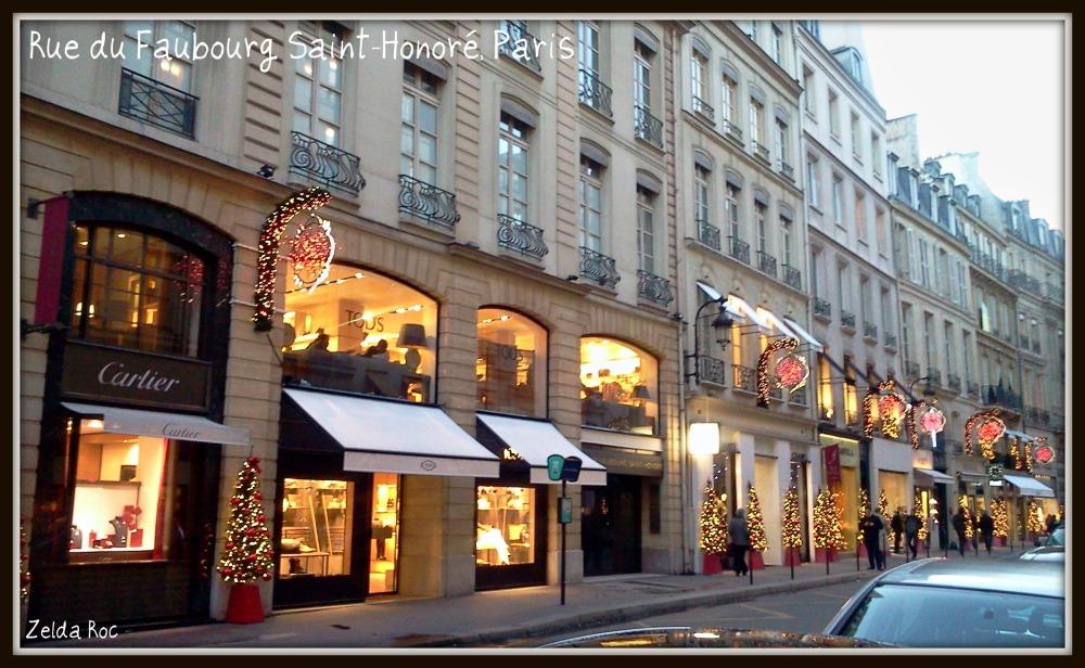 Rue du Faubourg Saint-Honoré, Parigi