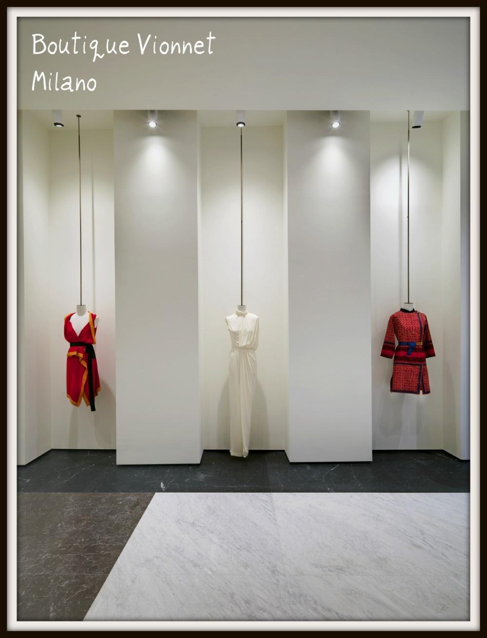 Boutique Vionnet - Milano