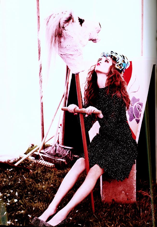 Gifford's Circus by Ellen Von Unwerth - Lula Magazine