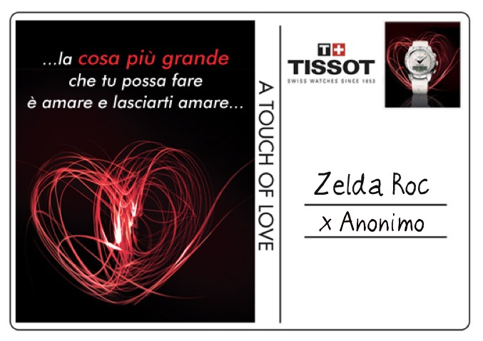"Zelda Roc - Tissot T-Touch ""A touch of Love"""