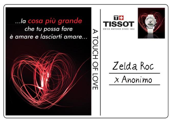 "Zelda Roc - Tissot T-Touch ""A touch of Love"""
