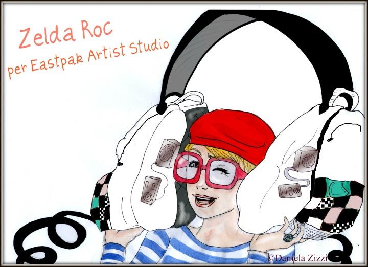 Zelda Roc per Eastpak Artist Studio